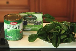 Differences in Spinach