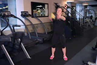 Weighted Squats & Twists