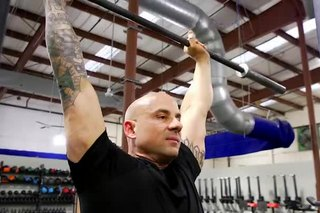 Overhead Press for Shoulder Development
