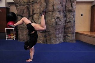 How to Do a Stag Handstand