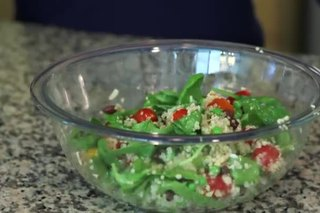 Cold, Healthy English Pea Salad