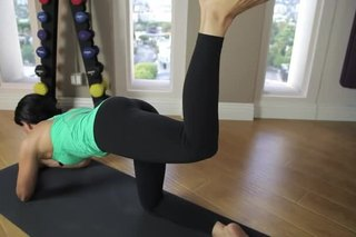 Reverse Leg Lifts Involving a Hip Extension