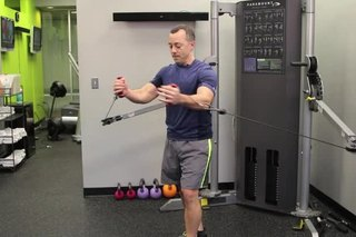 Pectoral Exercises While Standing