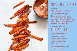 Cinnamon-Roasted Sweet Potatoes Recipe