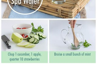 The Del-icious Spa Water Recipe