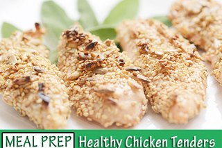 #Mealprepmonday Recipe: Healthy Chicken Tenders