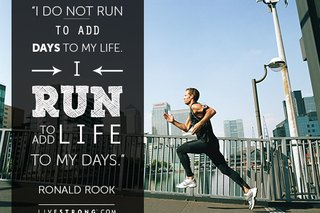 "Motivation: ""I Run to Add Life to My Days"""