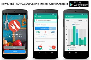 New LIVESTRONG.COM Android Calorie Tracker App Has Launched
