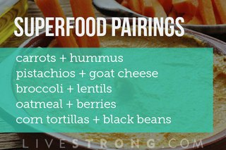 How to Pair Superfoods for Super Health