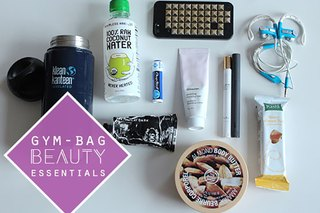 12 Beauty Essentials for Your Gym Bag