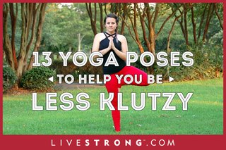 13 Yoga Poses to Help You Be Less Klutzy