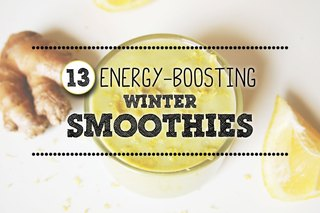 13 Energy-Boosting Winter Smoothies