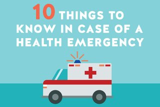 10 Things to Know in Case of a Health Emergency