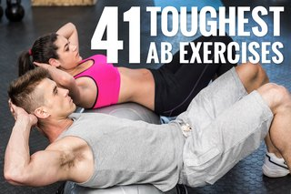 The 41 Hardest Ab Exercises