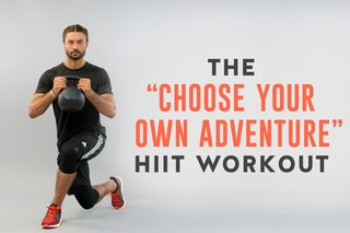 The 'Choose Your Own Adventure' HIIT Workout