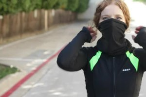 Breathing While Speed-Walking in the Cold