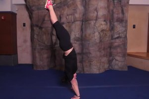 How to Do a Cool, but Easy Gymnastic Trick