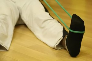How to Use a Resistance Band to Improve Your Arches