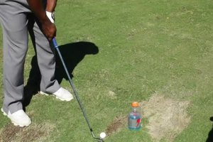 Pushing Golf Swing Drills