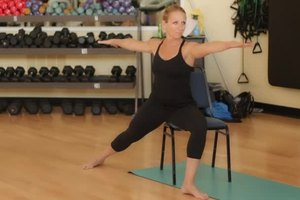 Yoga Chair Poses for Seniors