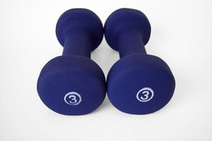 Exercises Using Small Hand Weights
