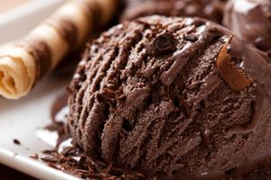 How Many Calories Are in Chocolate Ice Cream?