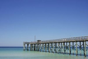 Fishing Piers in Panama City, Florida