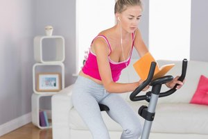 How to Read While Using an Exercise Bike