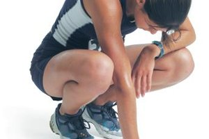 Running and Severe Upper Abdominal Pain