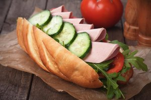 Nutrition for Subway Foot-Long Sandwiches