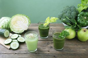 Vegetables & Fruits to Juice for Energy