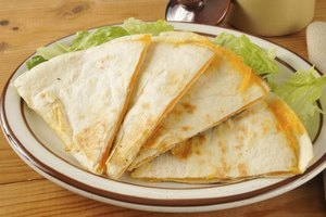 Cheese Quesadilla Nutrition
