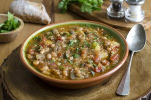 Calories in Homemade Bean Soup