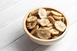 Dried Banana Chips Nutrition