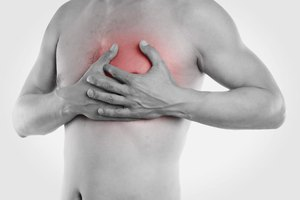 Pain in the Top Left Chest During Exercise & When Lying…