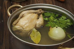 The Nutritional Information for Homemade Chicken Stock