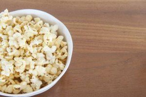 Calories & Nutrition in Air Popped Popcorn