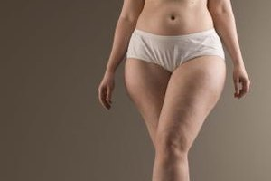 Diets for Women to Lose Weight on Their Butts & Thighs