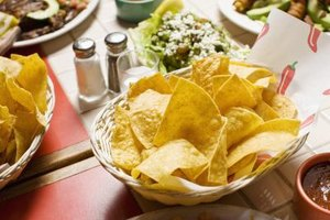 Nutrition Information for Zaba's Mexican Restaurant