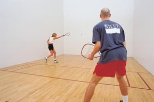 How Many Calories Are Burned in One Hour of Racquetball…