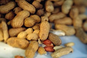 Nutrition of Peanuts Vs. Almonds