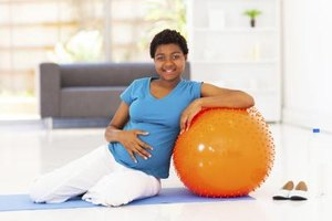 Pregnancy Workouts With a Ball