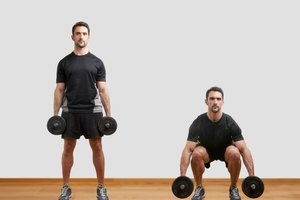 Bodyweight Squats Vs. Dumbbell Squats