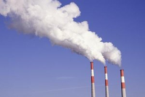How Do Factories Pollute the Air?