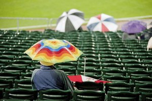 Rain Delay Rules for Baseball