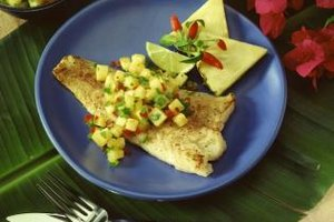 How to Cook Catfish Fillet With No Breading