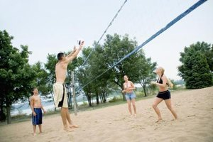 Regulation Height for a Volleyball Net
