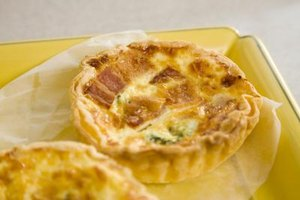 Nutrition Facts for Ham, Cheese & Egg Quiche