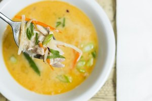 Tom Kha Gai Soup Calories