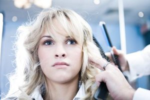 How to Repair Hair Damaged by a Flat Iron